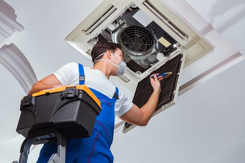 keeping hvac equipment clean